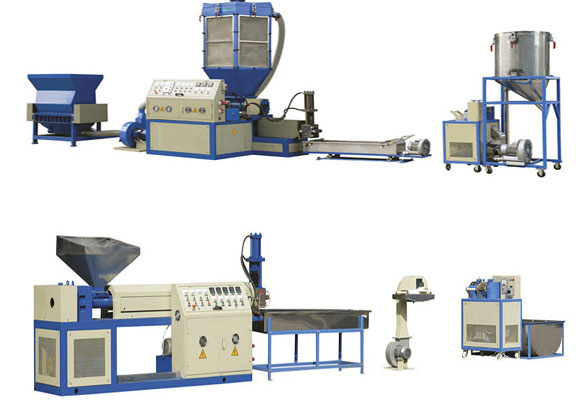 pvc recycling machine