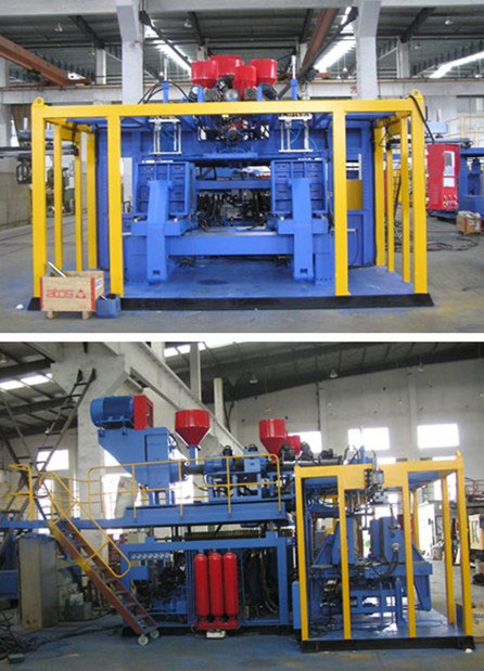 Co-extrusion-plastic-blow-machinery