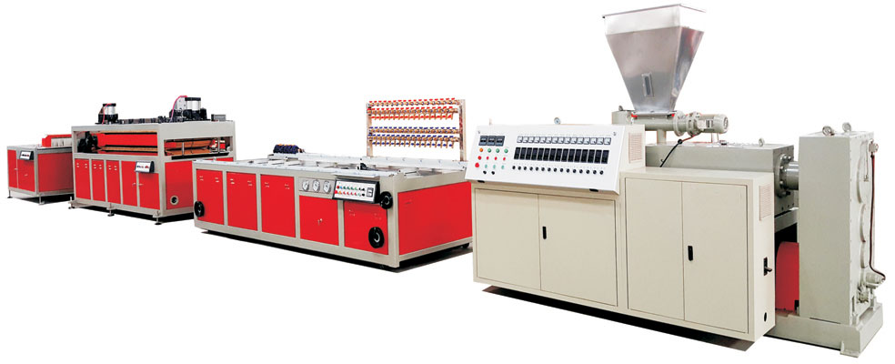 wpc-extrusion-line