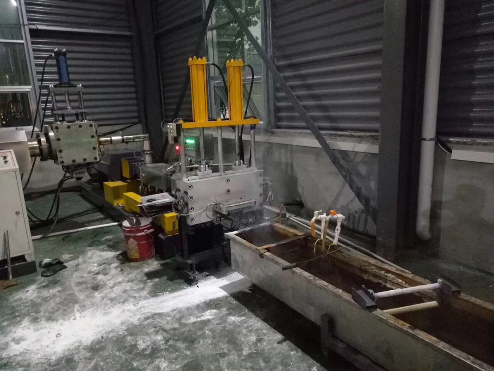 PET-recycle-extruder-machiney