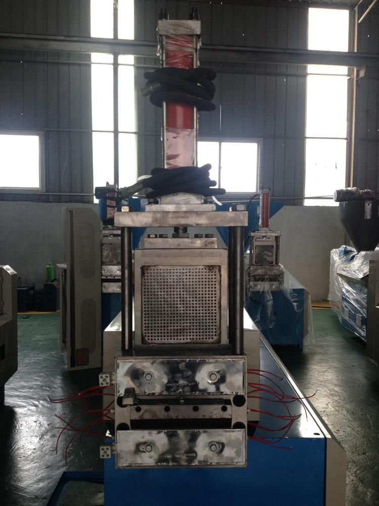 PE-Granules- Machine- with- Hydraulic- Screen Changer