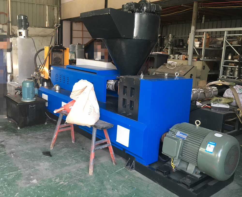plastic-recycling--water-ring-pelletizer- machine